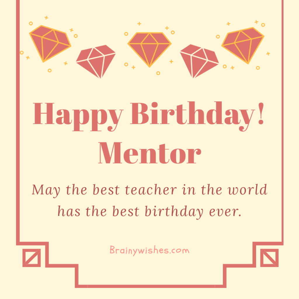 Birthday Wishes For Teacher Happy Birthday Teacher Messages