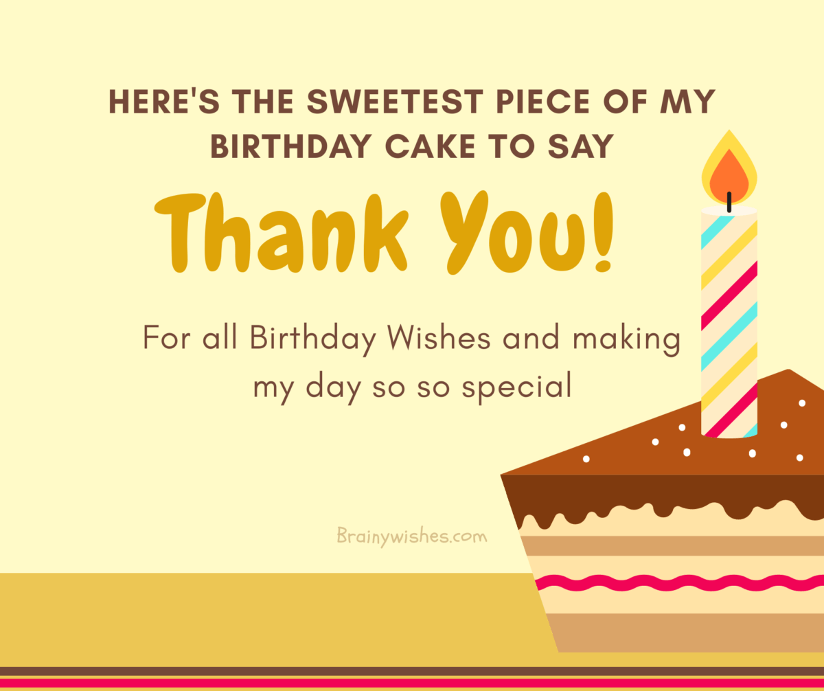Thank You For Birthday Wishes.Thank You For Birthday Wishes Ways To Say Thanks For